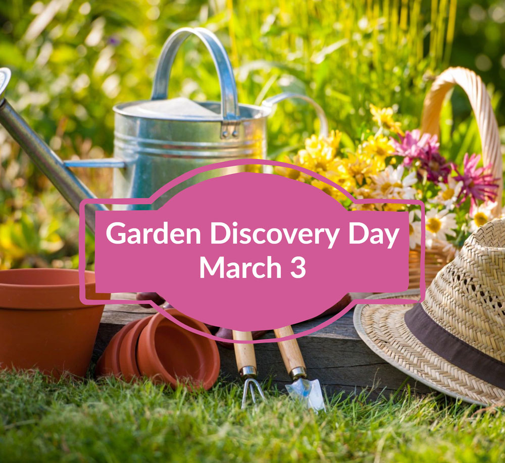Get Essential Gardening Tips at Garden Discovery Day!