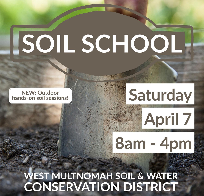 Registration is now open for Soil School 2018!