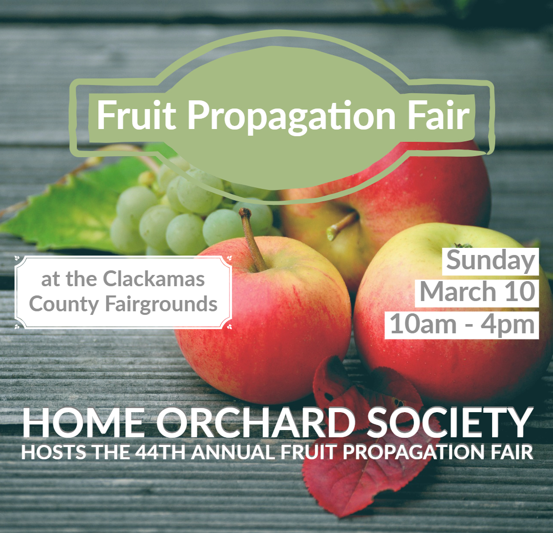 Home Orchard Society Annual Fruit Propagation Fair