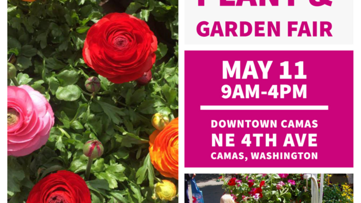 22nd Annual Camas Plant & Garden Fair