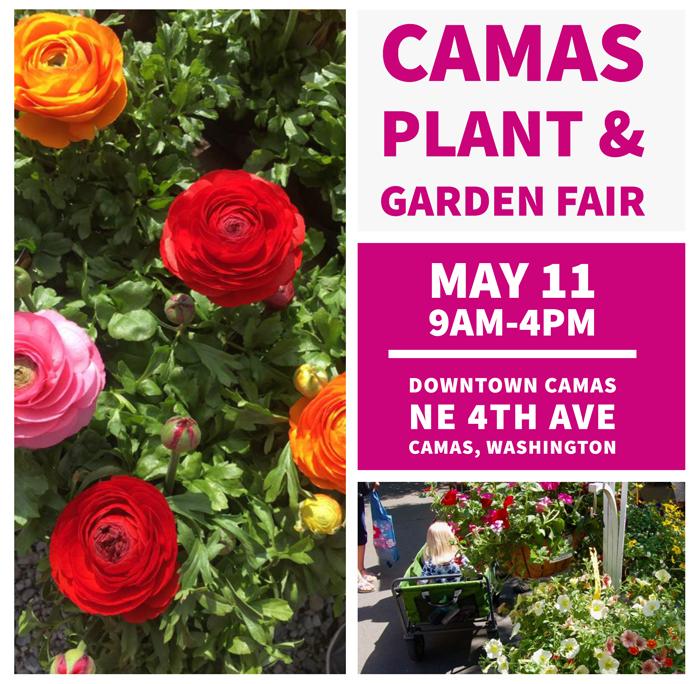 22nd Annual Camas Plant & Garden Fair