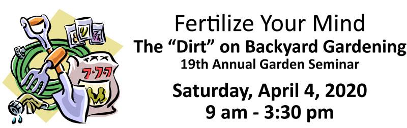CANCELED – 19th annual garden seminar in Coos County.