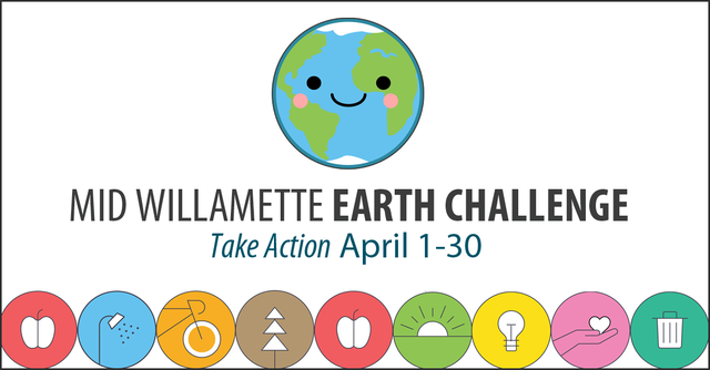 Join the Mid-Willamette Earth Challenge