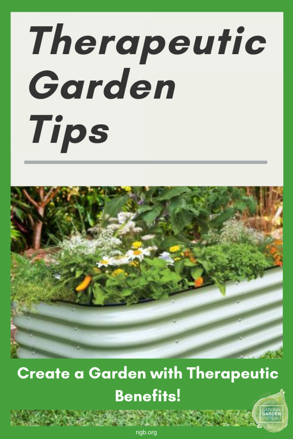 Yes, you can! Create a garden with therapeutic benefits